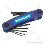 """Hex Key Imperial Tool 7pce - 1/20"""" - 3/16"""""""