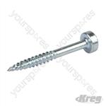 "Stainless Steel Pocket-Screws Pan Head Fine - No.6 x 1-1/4"" 500pk"