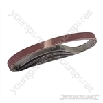 Sanding Belts 10 x 330mm 5pk - 120 Grit