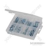 CSK Machine Screws & Nuts Pack - 105pce