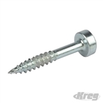 "Zinc Pocket-Hole Screws Pan Head Fine - No.6 x 1"" 1200pk"