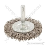 Rotary Steel Wire Wheel Brush - 50mm