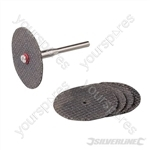 Rotary Tool Metal Cutting Disc Set 6pce - 31mm Dia