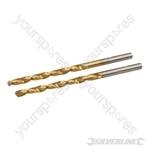 HSS Titanium-Coated Drill Bits 2pk - 3.0mm