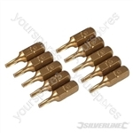 T9 Gold Screwdriver Bits 10pk - T9