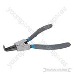 Bent External Circlip Pliers - 230mm