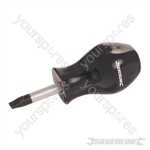 Stubby Screwdriver Slotted - 6 x 27mm