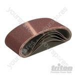 Sanding Belt 64 x 406mm 5pk - 60 Grit