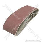 Sanding Belts 75 x 533mm 5pk - 120 Grit