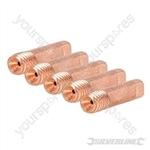 MIG Welder Contact Tips M6 5pk - 0.6mm