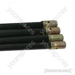 Drain Rods - 4pk Extension Rods