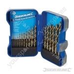 Titanium-Coated HSS Drill Bit Set 17pce - 17pce
