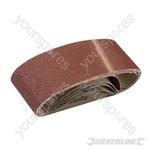 Sanding Belts 60 x 400mm 5pk - 80 Grit