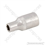 "Socket 1/4"" Drive 6pt Metric - 4.5mm"