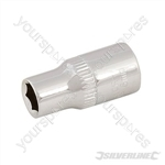 "Socket 1/4"" Drive 6pt Metric - 6mm"