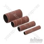 Aluminium Oxide Sanding Sleeves 4pce - TSPSS80G4PK Sanding Sleeves 4pce 80G
