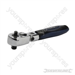 "Double-Head Ratchet Handle - 3/8"" & 1/4"""