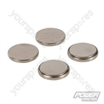 Lithium Button Cell Battery CR2032 4pk - CR2032