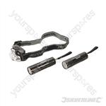 LED Flashlight & Headlight 3pce - 3pce
