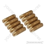 T40 Gold Screwdriver Bits 10pk - T40