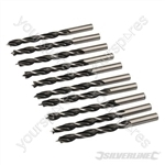 Lip & Spur Drill Bits - 8mm 10pk