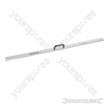 Aluminium Rule with Handle - 1200mm