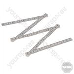Plastic Folding Ruler - 1m