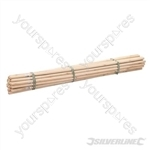 "Broom Handles - 5' x 1-1/8"" Dia 30pce"