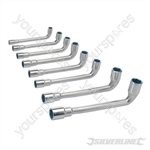 L-Shaped Socket Wrench Set 8pce - 8 - 19mm