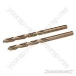 Cobalt Drill Bits 2pk - 5.5mm