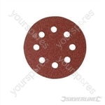 Hook & Loop Discs Punched 150mm 10pk - 150mm 240 Grit