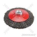 Steel Crimp Bevel Brush - 115mm