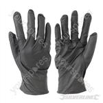 Disposable Nitrile Gloves Powder-Free 100pk - Black Medium