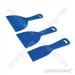 Plastic Scraper Set 3pce - 50, 100 & 150mm