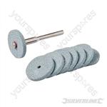 Rotary Tool Grinding Wheel Set 9pce - 20mm Dia