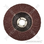 Aluminium Oxide Flap Disc - 100mm 80 Grit