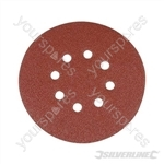 Hook & Loop Discs Punched 150mm 10pk - 150mm 80 Grit