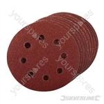 Hook & Loop Discs Punched 115mm 10pk - 80 Grit