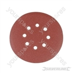Hook & Loop Discs Punched 150mm 10pk - 150mm 120 Grit