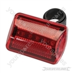5 LED Bike Lamp - Red