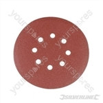 Hook & Loop Discs Punched 150mm 10pk - 150mm 180 Grit