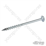 "Zinc Pocket-Hole Screws Washer Head Coarse - No.8 x 2-1/2"" 250pk"
