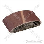 Sanding Belts 65 x 410mm 5pk - 80 Grit