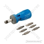 Stubby Ratchet Screwdriver Set 12-in-1 - 12-in-1