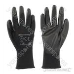 Black Palm Gloves - Large