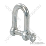 Galvanised Commercial D-Shackle 10pk - M10