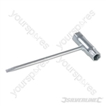 Chainsaw Spanner - 13 x 19mm Hex Sockets