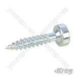 "Zinc Pocket-Hole Screws Pan Head Fine - No.6 x 3/4"" 500pk"