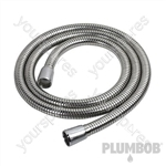 Extendable Stainless Steel Shower Hose - 1.5 - 2m