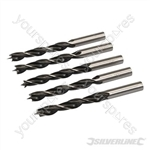 Lip & Spur Drill Bits - 12mm 5pk